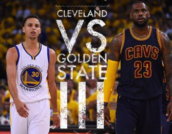 Cleveland vs Golden State III